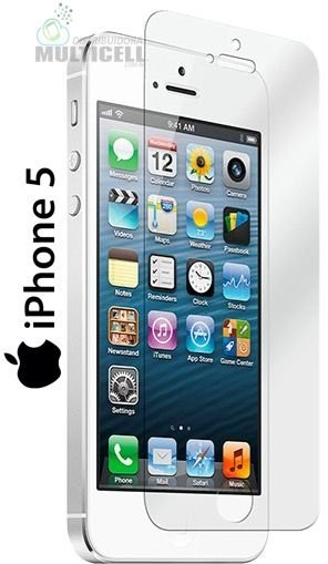 PELICULA DE VIDRO APPLE IPHONE 5 5C 5S