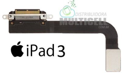 FLEX DOCK CONECTOR DE CARGA APPLE A1430 IPAD 3 ORIGINAL