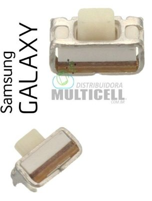 TECLA BOTÃO POWER VOLUME ON OFF SAMSUNG I9300 I9305 I9500 I9505 I9515