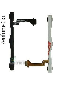 FLEX POWER E VOLUME ASUS ZC500TG ZENFONE GO ORIGINAL