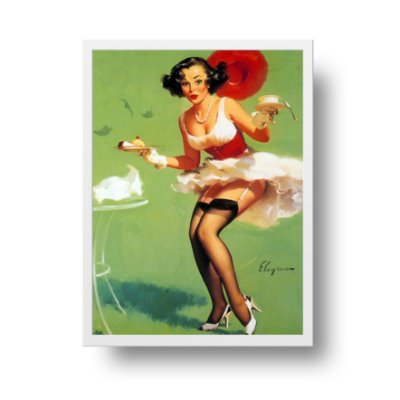 Poster Pin Up - Fresh breeze and desert
