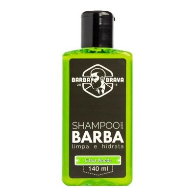 Shampoo para Barba Citrus Woods 140ml - Barba Brava