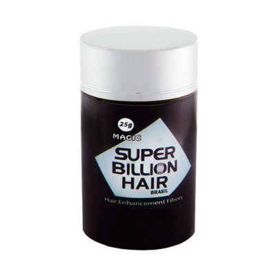 Disfarce para Calvície Preto 25g - Super Billion Hair