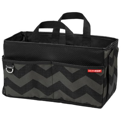 Bolsa Organizadora Car Storage Box Skiphop On-The-Go Drive - Tonal Chevron - A sacola perfeita para o carro !