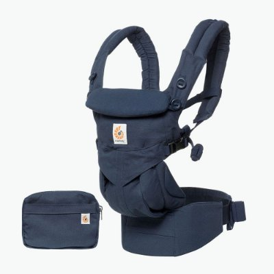 Canguru Ergobaby - OMINI 360 - ALL-IN-ONE Baby Carrier - Cor : Midnight Blue (Azul) ***Lançamento Mundial***