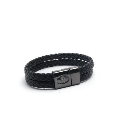 Pulseira Black Leather | USE WON
