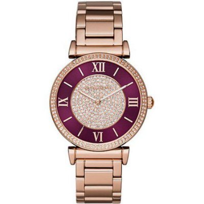 Michael Kors Catlin Pave Crystal Watch MK3412