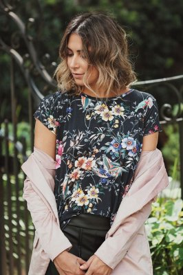 T-shirt Beauty Flowers