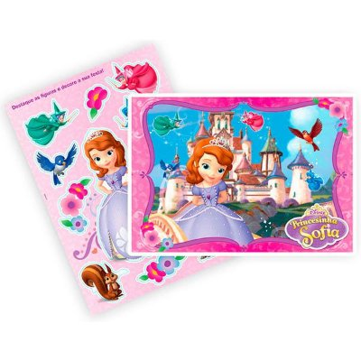 Kit Decorativo de Parede  Princesa Sofia