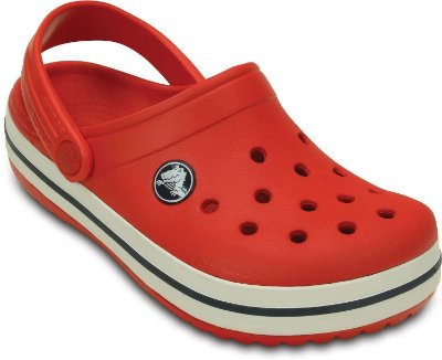 CALÇADO CROCBAND KIDS - 10998 - FLAME/WHITE