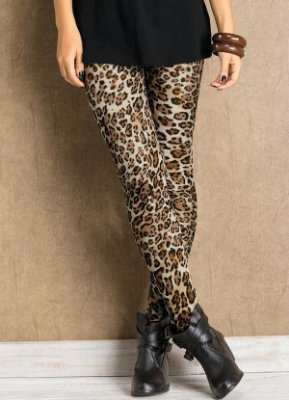 Legging Estampa de Onça