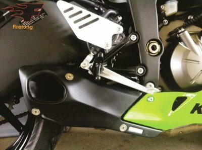 Escapamento Esportivo Kawasaki ZX-6 / Ninja 636 - Willy Made Firetong