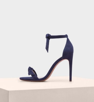CLARITA SUEDE NIGHT SHADE