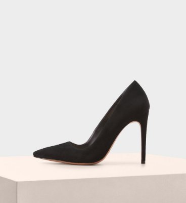 NEW HALLE SUEDE BLACK
