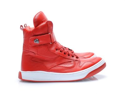 TENIS SLIM 3723 - NAPA VERMELHA ALL RED
