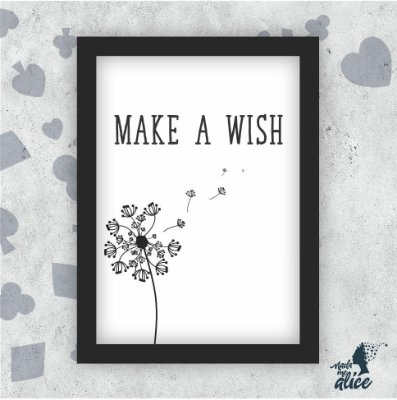 Quadro MAKE A WISH