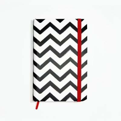 Sketchbook Zig Zag Black