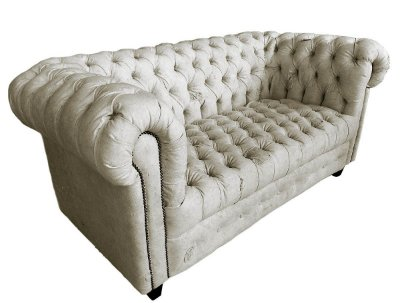 Sofá Chesterfield 2L Lona Reciclada