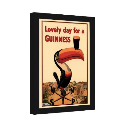 Quadro Decorativo Lovely Day for a Guinness