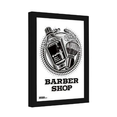 Quadro Decorativo Lotion Barber Shop