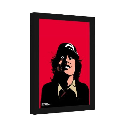 Quadro Decorativo Bon Scott AC/DC