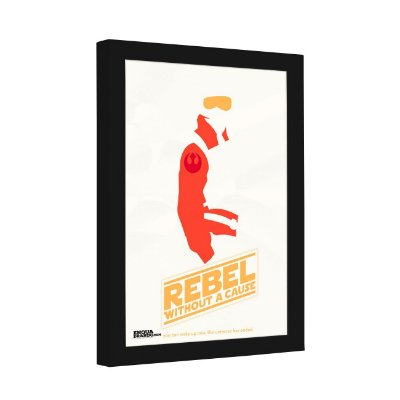 Quadro Decorativo Star Wars - Rebel Without a Cause