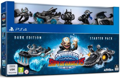 Skylanders Superchargers Dark Edition Starter Pack PS4