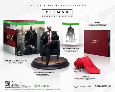 Hitman Collector's Edition Xbox One