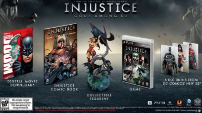 Injustice: Gods Among Us Collectors Edition PS3