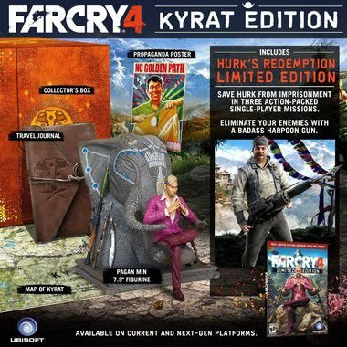 Far Cry 4 Kyrat Edition - Collectors Edition Xbox One