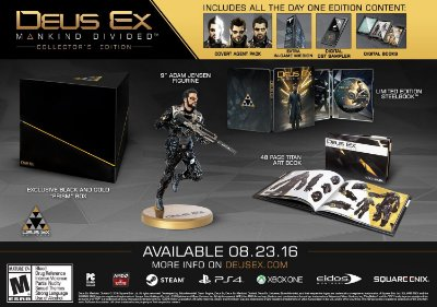 Deus Ex: Mankind Divided Collector's Edition - Xbox One
