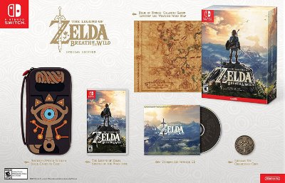 The Legend of Zelda: Breath of the Wild Special Edition - Switch
