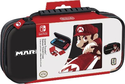 Deluxe Game Travel Case Mario Kart 8 - Switch