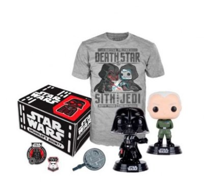 POP Funko Collectors Box Star Wars Death Star