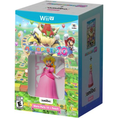 Mario Party 10 + Amiibo Peach Bundle