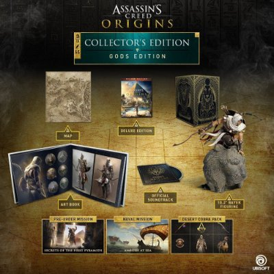 Assassin's Creed Origins Gods Collector's Edition – PS4