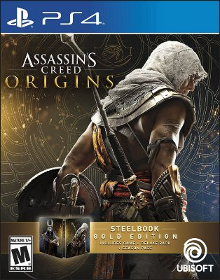 Assassin's Creed Origins SteelBook Gold Edition - PS4