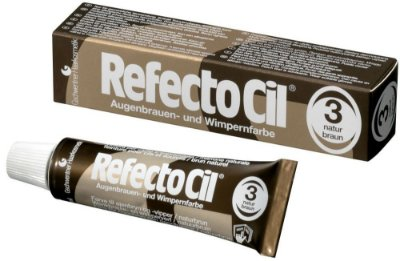 Tinta Para Sobrancelhas Refectocil Marrom Natural N° 3 15ml
