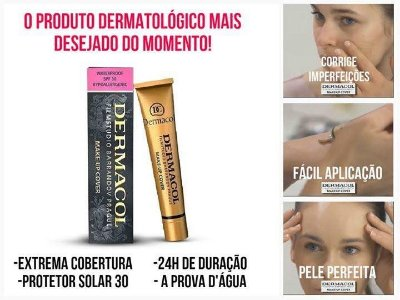 Dermacol Base/Corretivo Make up Cover - 30g