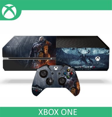 Capa skin xbox one - the witcher3