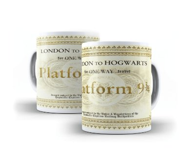 Harry Pottter - Plataforma 9 3/4