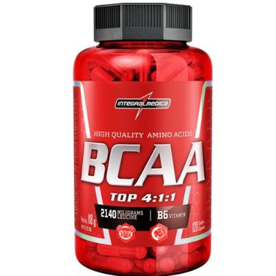 BCAA TOP 4:1:1 120caps - Integralmedica