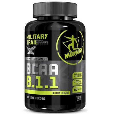 BCAA 8:1:1 120caps - Midway