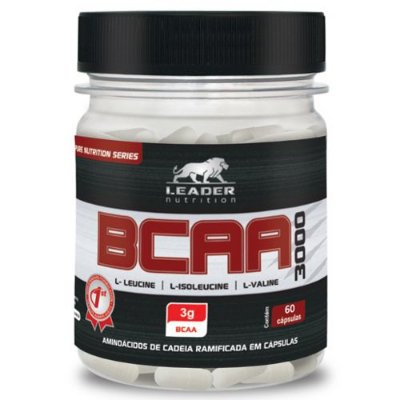 BCAA 3000 60caps - Leader Nutrition