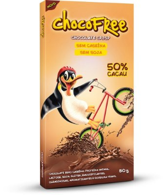 Tablete 80g ChocoFree - Crisp