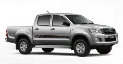 Kit Adesivo lateral Toyota Hilux Cabine Dupla Th1 Sport