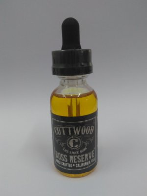 E-Líquid Boss Reserve 30ml - Cuttwood®