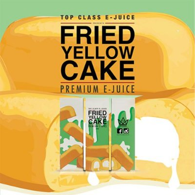 E-juice Fried Yellow Cake - Top Class 60ML