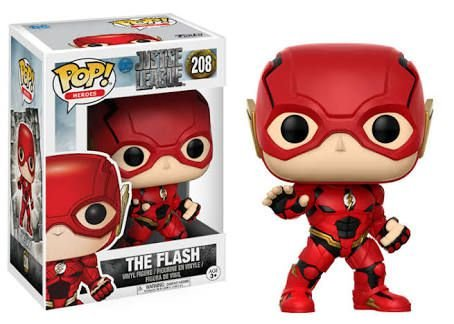 Funko Pop Liga da Justiça The Flash #208