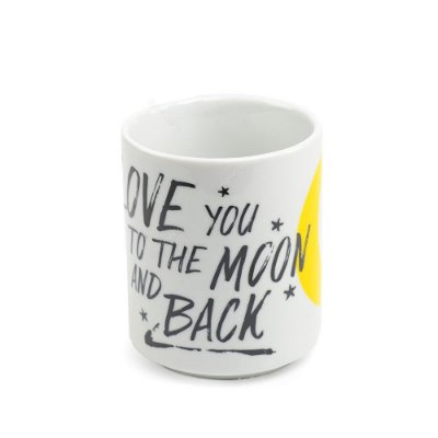 Caneca Decorada Golden Moon